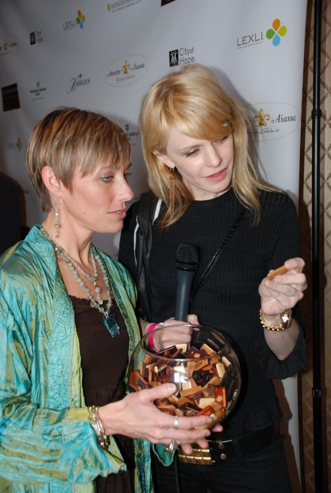 Kathryn Morris with Lisa Coltman at Sundance Film Festival