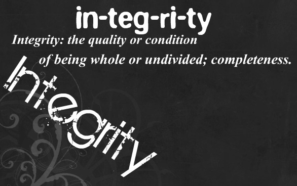 My Word is Integrity
