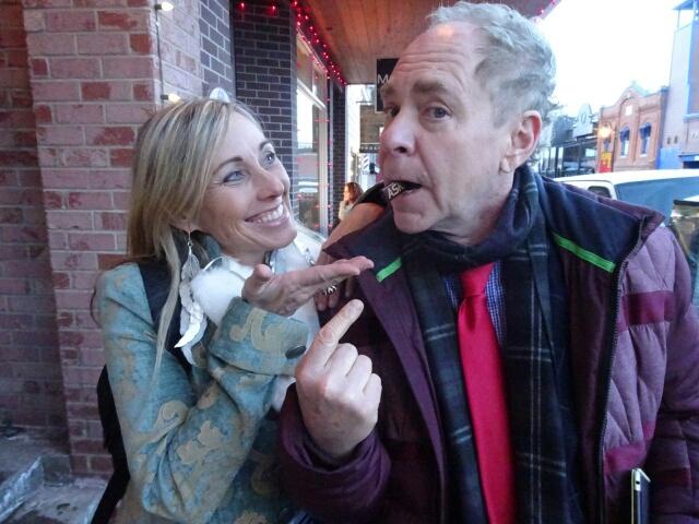 Teller picks the word Ask at Sundance