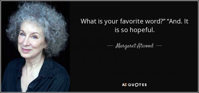 Margaret Atwood Favorite Word